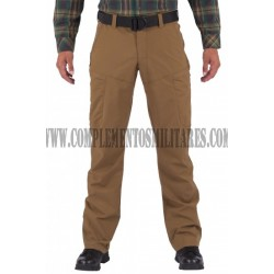 PANTALON APEX 5.11 COLOR BATTLE BROWN